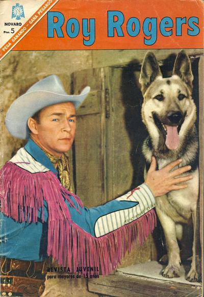Cover for Roy Rogers (Editorial Novaro, 1952 series) #170