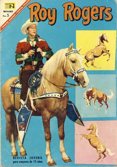 Cover for Roy Rogers (Editorial Novaro, 1952 series) #178