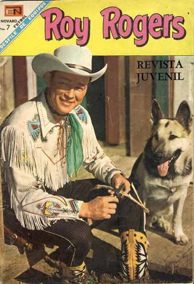 Cover for Roy Rogers (Editorial Novaro, 1952 series) #193