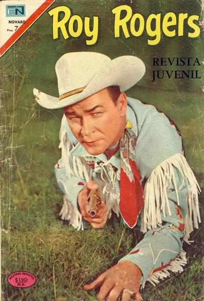 Cover for Roy Rogers (Editorial Novaro, 1952 series) #211