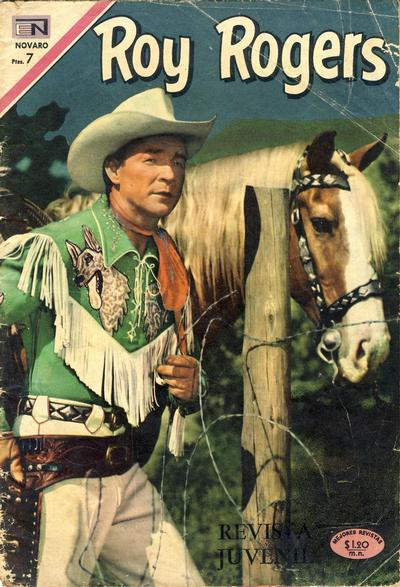Cover for Roy Rogers (Editorial Novaro, 1952 series) #218