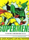 Cover for Supermen! The First Wave of Comic Book Heroes 1936-1941 (Fantagraphics, 2009 series)