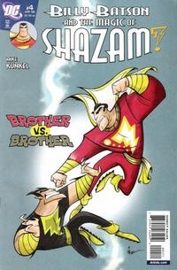 Cover Thumbnail for Billy Batson & the Magic of Shazam! (DC, 2008 series) #4