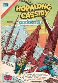 Cover Thumbnail for Hopalong Cassidy (Editorial Novaro, 1952 series) #296