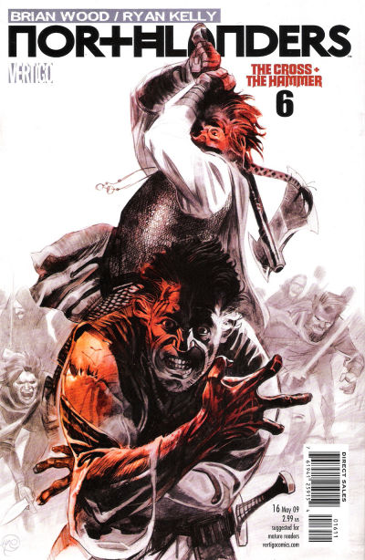 Cover for Northlanders (DC, 2008 series) #16