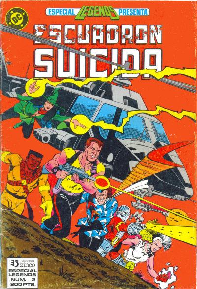 Cover for Legends [Especial Legends] (Zinco, 1988 series) #2