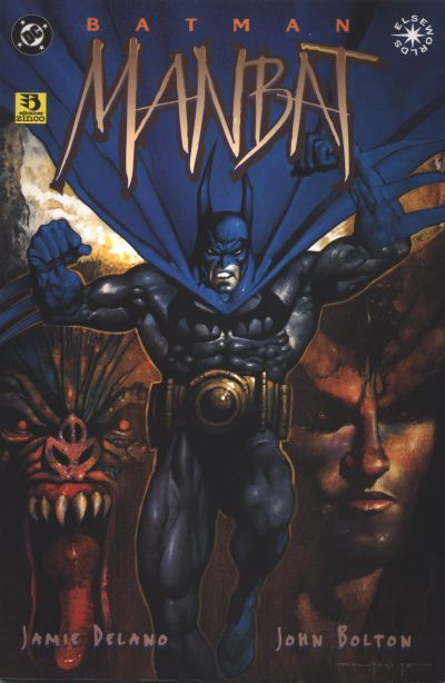 Cover for Batman:Manbat (Zinco, 1996 series) #2