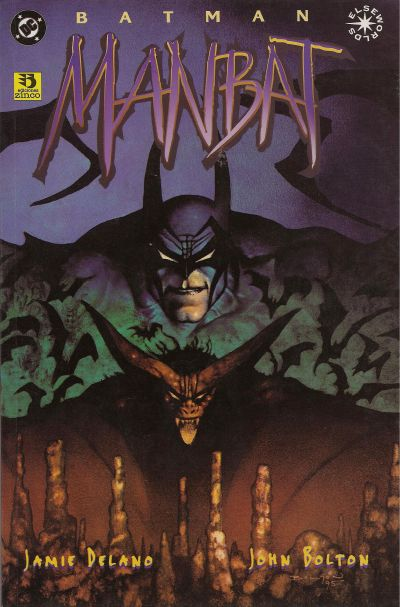 Cover for Batman:Manbat (Zinco, 1996 series) #3