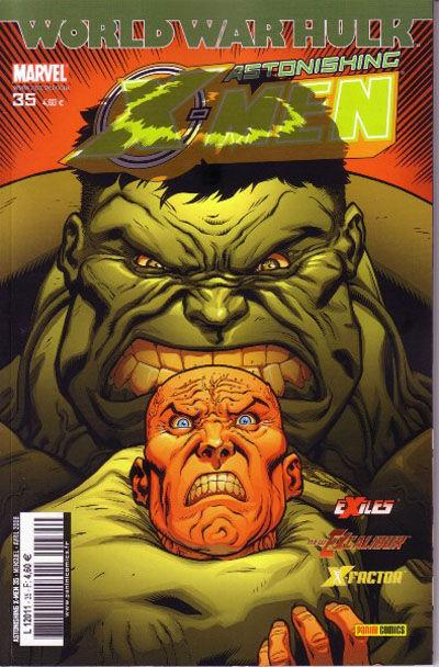 Cover for Astonishing X-Men (Panini France, 2005 series) #35