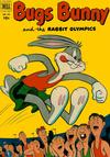Cover for Four Color (Dell, 1942 series) #432 - Bugs Bunny and the Rabbit Olympics