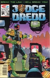 Cover Thumbnail for Judge Dredd (Fleetway/Quality, 1987 series) #54