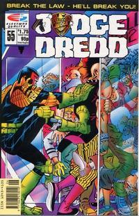 Cover Thumbnail for Judge Dredd (Fleetway/Quality, 1987 series) #55