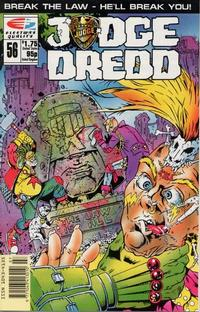 Cover Thumbnail for Judge Dredd (Fleetway/Quality, 1987 series) #56