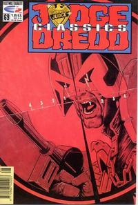 Cover Thumbnail for Judge Dredd Classics (Fleetway/Quality, 1991 series) #69