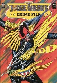 Cover Thumbnail for Judge Dredd's Crime File (Fleetway/Quality, 1989 series) #4
