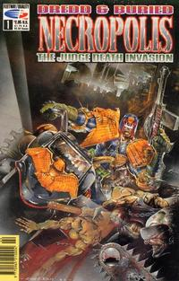Cover Thumbnail for Necropolis: The Judge Death Invasion (Fleetway/Quality, 1991 series) #1