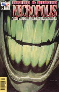 Cover Thumbnail for Necropolis: The Judge Death Invasion (Fleetway/Quality, 1991 series) #2