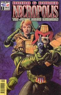Cover Thumbnail for Necropolis: The Judge Death Invasion (Fleetway/Quality, 1991 series) #3