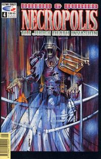 Cover Thumbnail for Necropolis: The Judge Death Invasion (Fleetway/Quality, 1991 series) #4