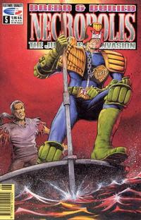 Cover Thumbnail for Necropolis: The Judge Death Invasion (Fleetway/Quality, 1991 series) #5