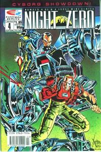 Cover Thumbnail for Night Zero (Fleetway/Quality, 1990 series) #4