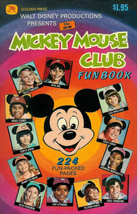 Cover Thumbnail for The New Mickey Mouse Club Fun Book (Western, 1977 series) #11190
