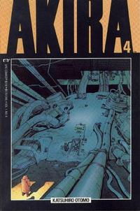 Cover for Akira (Marvel, 1988 series) #4