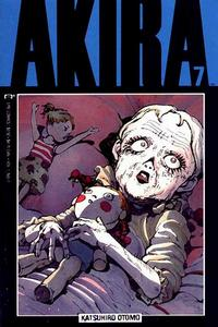 Cover for Akira (Marvel, 1988 series) #7