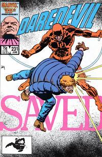 Cover Thumbnail for Daredevil (Marvel, 1964 series) #231 [Direct]
