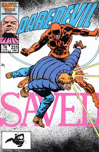 Cover Thumbnail for Daredevil (Marvel, 1964 series) #231 [Direct]