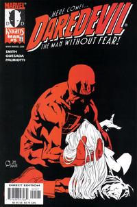 Cover Thumbnail for Daredevil (Marvel, 1998 series) #5 [Karen Page Variant]