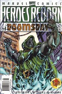 Cover Thumbnail for Heroes Reborn: Doomsday (Marvel, 2000 series) #1 [Newsstand]