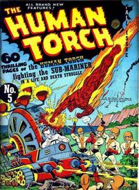 Cover Thumbnail for The Human Torch (Marvel, 1940 series) #5[b]
