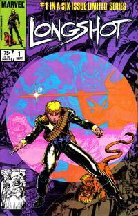 Cover Thumbnail for Longshot (Marvel, 1985 series) #1 [Direct]