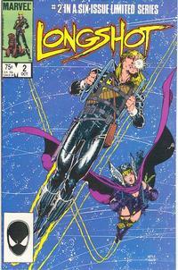 Cover Thumbnail for Longshot (Marvel, 1985 series) #2 [Direct]