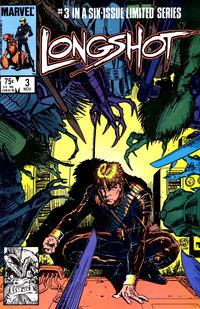 Cover Thumbnail for Longshot (Marvel, 1985 series) #3 [Direct]