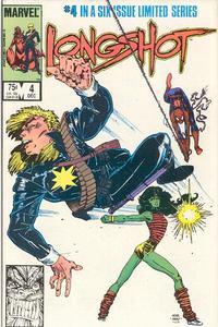 Cover Thumbnail for Longshot (Marvel, 1985 series) #4 [Direct]