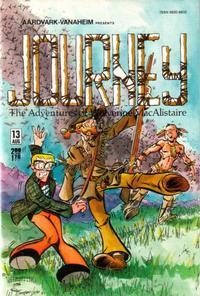Cover Thumbnail for Journey (Aardvark-Vanaheim, 1983 series) #13