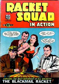 Cover Thumbnail for Racket Squad in Action (Charlton, 1952 series) #3