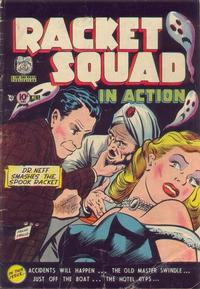 Cover Thumbnail for Racket Squad in Action (Charlton, 1952 series) #5