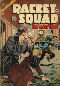 Cover Thumbnail for Racket Squad in Action (Charlton, 1952 series) #8