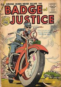 Cover Thumbnail for Badge of Justice (Charlton, 1955 series) #2