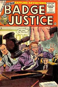 Cover Thumbnail for Badge of Justice (Charlton, 1955 series) #4