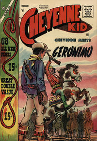 Cover for Cheyenne Kid (Charlton, 1957 series) #11