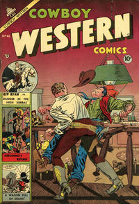 Cover Thumbnail for Cowboy Western Comics (Charlton, 1953 series) #46