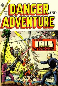 Cover Thumbnail for Danger and Adventure (Charlton, 1955 series) #22