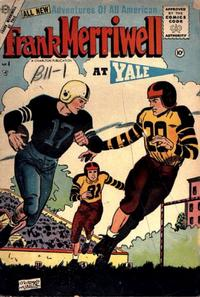 Cover Thumbnail for Frank Merriwell at Yale (Charlton, 1955 series) #4