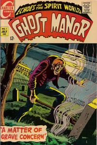 Cover Thumbnail for Ghost Manor (Charlton, 1968 series) #1