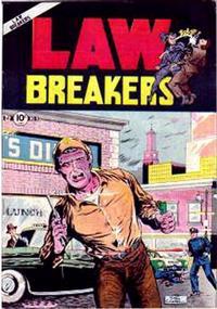 Cover Thumbnail for Lawbreakers (Charlton, 1951 series) #9