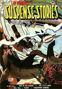 Cover Thumbnail for Lawbreakers Suspense Stories (Charlton, 1953 series) #14